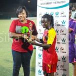 Black Queens defender Janet Egyir named MVP in win over Senegal