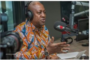 2020 Polls: EC Chairperson not acting neutral- Mahama