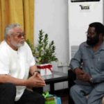 Rawlings Foundation receives financial support from Okoe  Vanderpuije led delegation