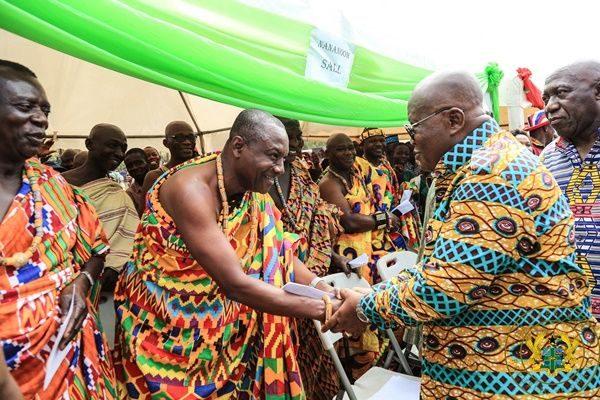Your name will be written in Gold in Oti's History – Krachiwura tells Akufo-Addo