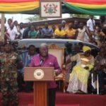 President Akufo-Addo calls for lasting peace in Chereponi