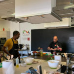 Galicia and its gastronomy charm influencers from Ukraine and Tanzania in the LaLiga Experience