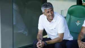 Real Betis part company with Quique Setien