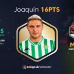 Joaquin leads the way in LaLiga Fantasy MARCA Matchday 37 Best XI