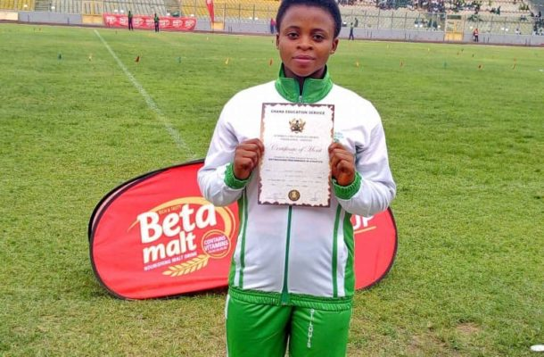 Boahemaa breaks Discus Throw record at Inter-co