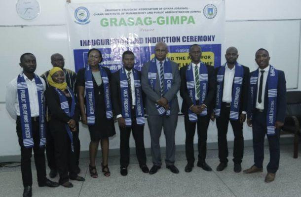 GIMPA GRASAG ushers in new executives