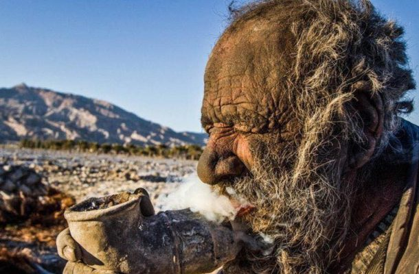 Man who's not taken his bath in 65 years is World's Dirtiest Man