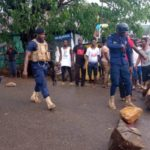 E/R: Manya Kpongunor youth clash with police and PDS over mass disconnection