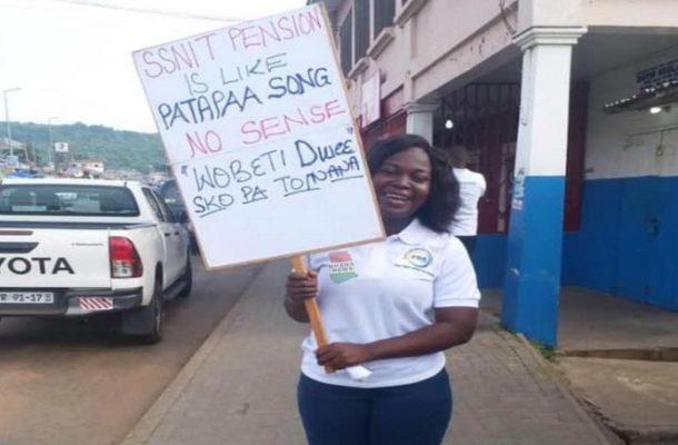 May Day placard bashing SSNIT goes viral
