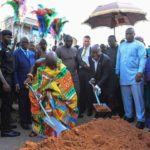 Akufo-Addo cuts sod for €248m phase II of Kumasi Central Market