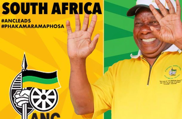 SA election: Counting picks up pace as incumbent ANC takes 'comfortable lead'