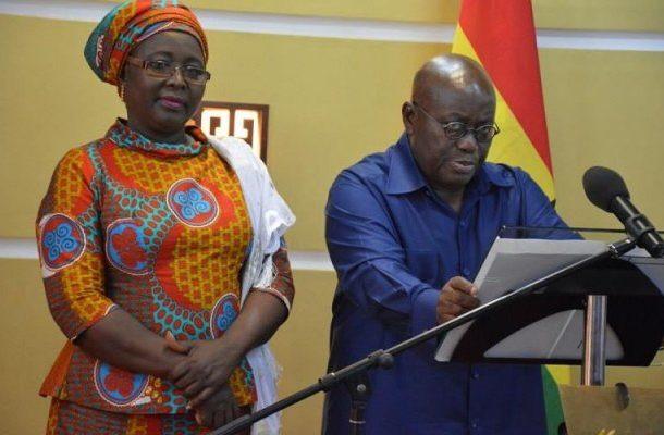 Hajia Alima Mahama heads to the US in Nana Addo's 2nd term