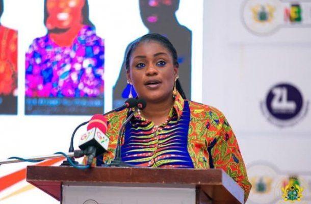 Gender dynamism: Dep. Information Minister, Nana Ama Dokua backs Akufo-Addo