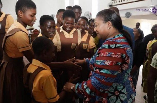 May God's grace cover you - First lady to BECE candidates