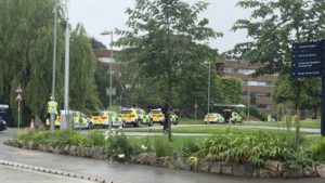 Exeter University on lockdown after 'student with gun started making threats'