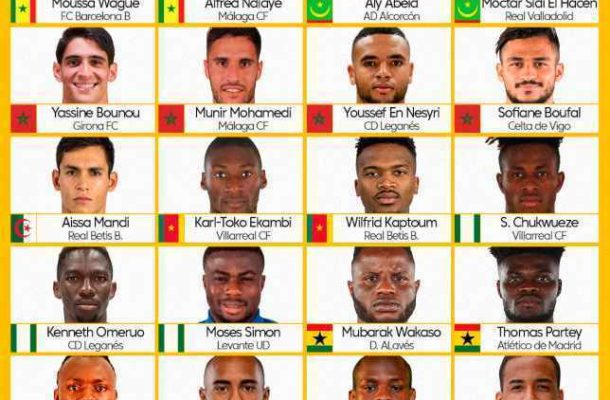 Ghanaian duo Wakaso, Partey among La Liga players to watch out for at AFCON