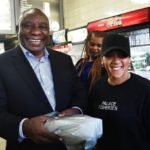 South Africa President buys lunch himself on busy day in Cape Town