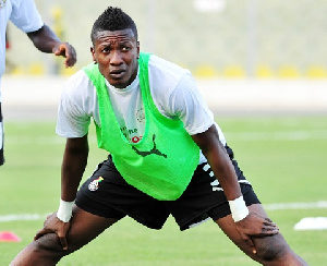 Asamoah Gyan laments poor weather in South Africa draw