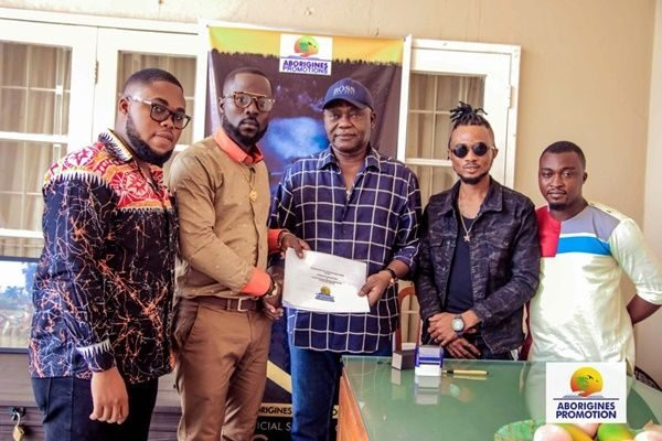 J.J Gonami pens 5 years recording deal with Aborigines Promotions