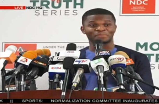 1V1D: Gov't not being truthful- NDC rebuts