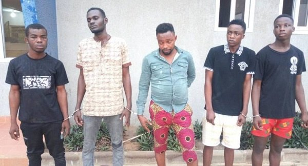 5 Nigerians arrested for allegedly raping woman in husband's presence
