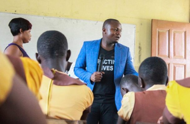 Meet the man educating girls in menstrual hygiene