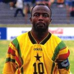 Abedi Pele ranked 5th greatest African footballer in history