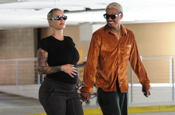 Amber Rose's beau Alexander 'AE' Edwards makes an explosive confession about s*x during her pregnancy