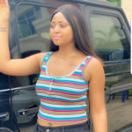 PHOTOS: Actress and Billionaire wife, Regina Daniels shows off new arm tattoo