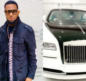 PHOTOS: Dbanj gifts himself brand new Rolls Royce for his birthday