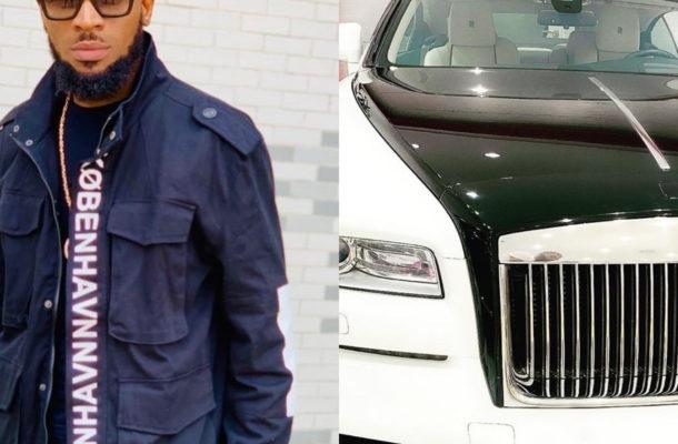 PHOTOS: Dbanj gifts himself brand new Rolls Royce for his birthday