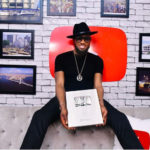 PHOTOS: Dbanj receives Silver plaque from YouTube after hitting 100,000 subscribers