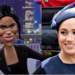 BBC portrays Meghan Markle as American 'trailer trash' who threatens to 'knife' Kate Middleton in a new comedy show