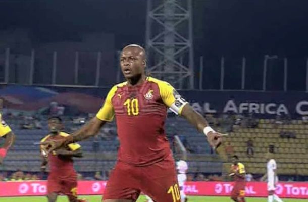 Dede Ayew sets new Afcon goal scoring record