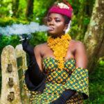 Ahuofe Patri viciously attacks trolls; says she'll smoke when she wants