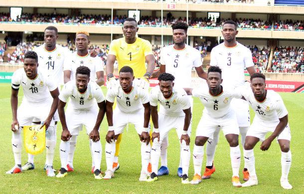 Black Stars starting XI to face Benin, Kwadwo Asamoah and Gyan dropped