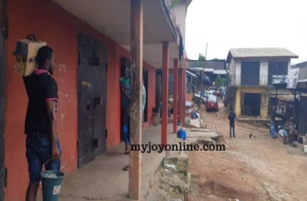 A/R: Nigerian traders close Suame shops as locals resurrect retail feud