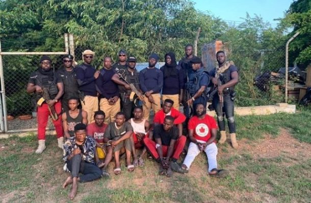 The Nigerian kidnapper who recruits and trains Ghanaians
