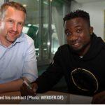 Werder Bremen loan out Jonah Osabutey to Belgian side Royal Excel Mouscron