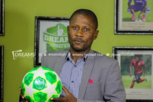 Dreams FC appoint Winfred Dormon as new manager