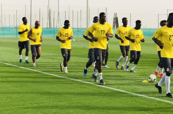 Black Stars players to justify inclusion against Namibia today
