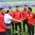 Egypt President Sisi visits Pharaohs ahead of Afcon kick off