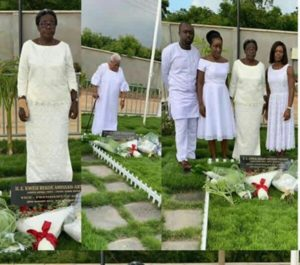 PHOTOS: Family of Late Vice-President Amissah-Arthur marks first anniversary