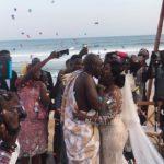 PHOTOS: Kofi Adjorlolo's ex fiancee and Peace FM's Eugene Nkansah officially married