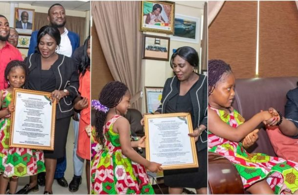 Government gives Talented Kidz winner Nakeeyat appointment
