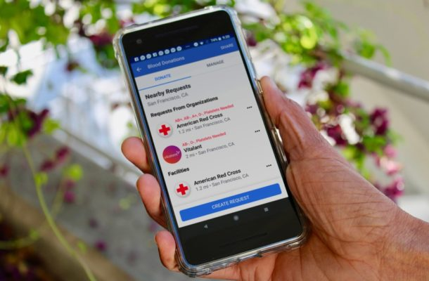 Facebook launches feature to help increase blood donations in the US