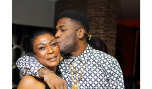 VIDEO: Burna Boy's mother receives standing ovation after powerful speech while receiving BET award for son