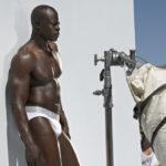 PHOTO: Actor Djimon Hounsou poses for risque photo