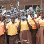 LEYLA Images donates Maths Sets to JHS students in Krobo land