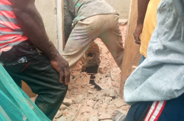 A/R: 110-year-old granny saves grandson after mother dumps him in pit latrine